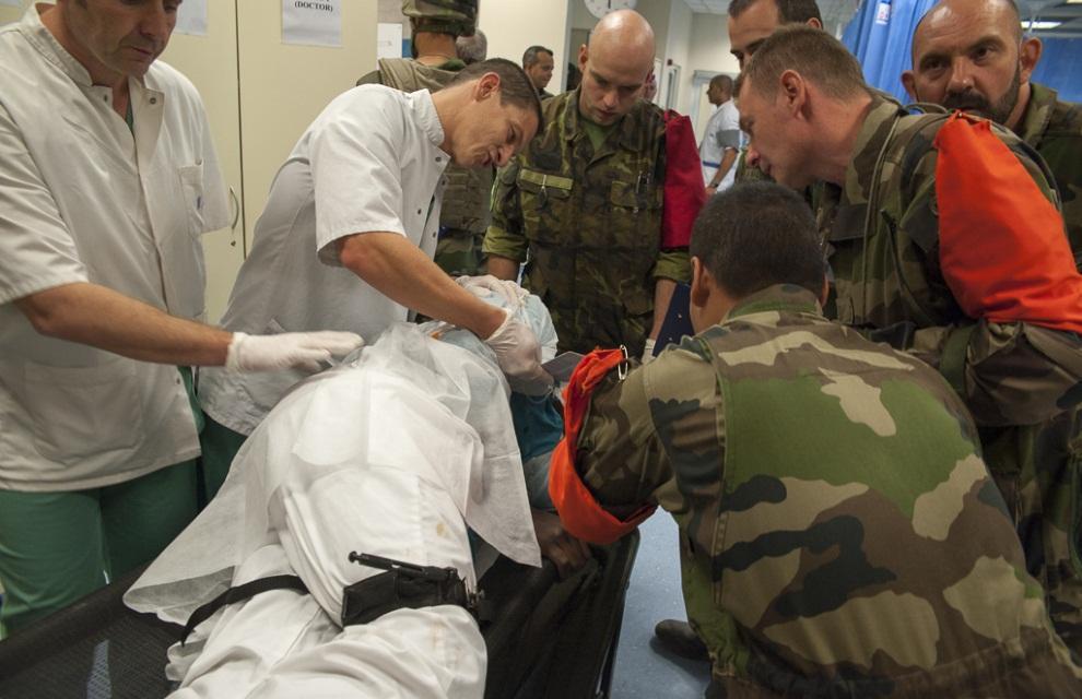 Rencontrer un medecin militaire