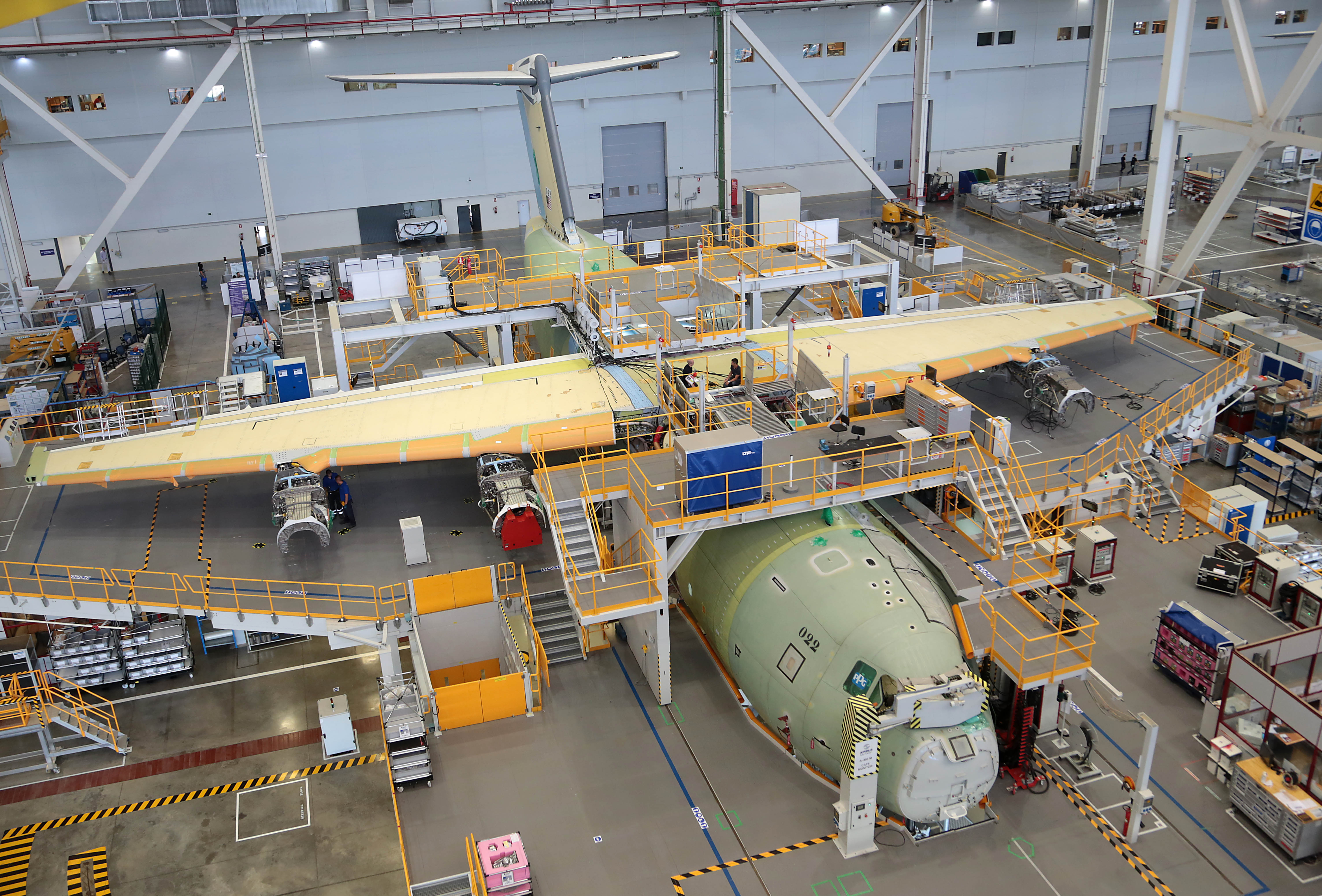 First Airbus A400m Airlifter For Malaysia Takes Shape