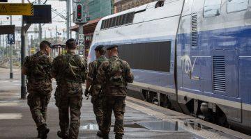 Plan Vigipirate en gare de Strasbourg 19 août 2013
