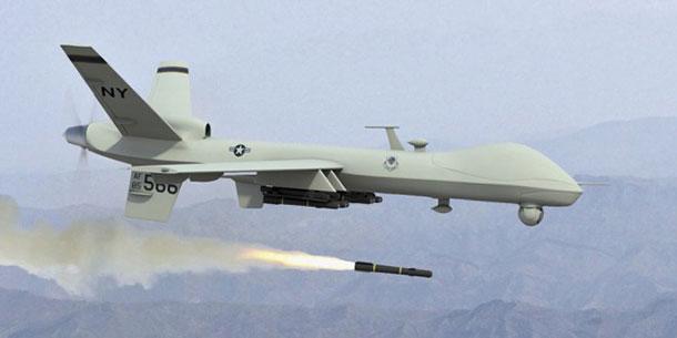 drones reaper armé